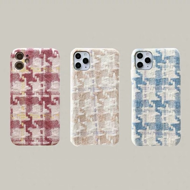 tweed iPhone case 3c's