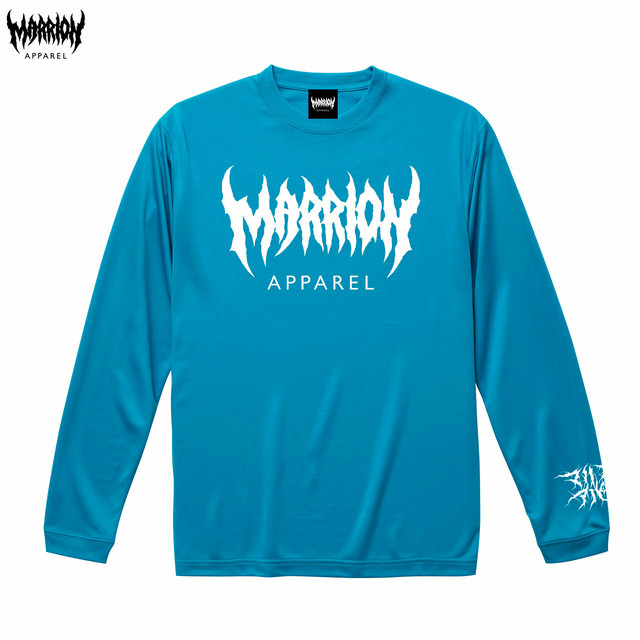 MARRION APPAREL DRY LONGSLEEVE (ターコイズブルー)