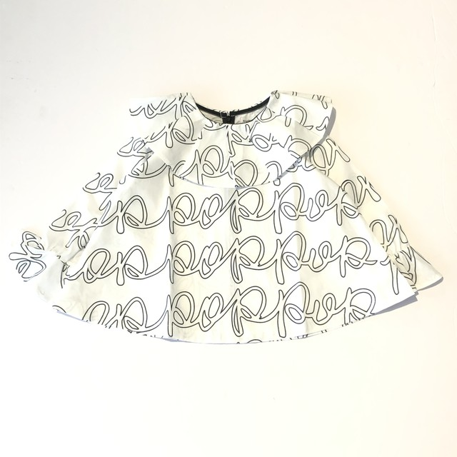 【21AW】フランキーグロウ ( frankygrow )POP PLEATS COLLAR BELL SHAPED TP[ S / M / L ]トップス ブラウス