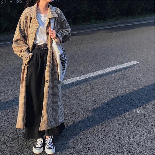 エレガント シック ロングコート ワンピース 秋冬商品【0370】