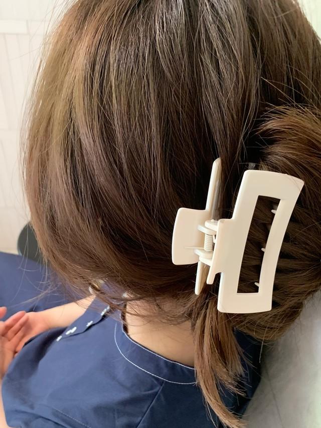 【予約】hairclip / off white (8月上旬発送予定)