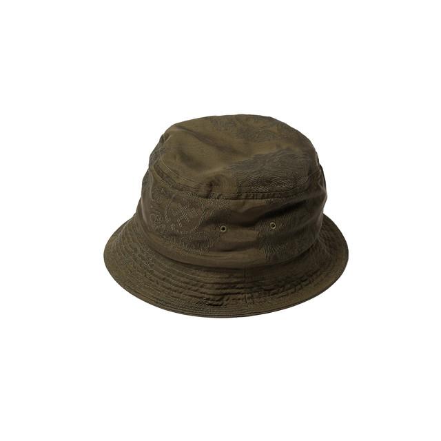 DELUXE × EVISEN HAT OLIVE