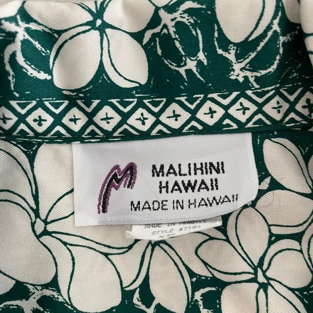 HAWAII  FLOWER ALOHA SHIRT