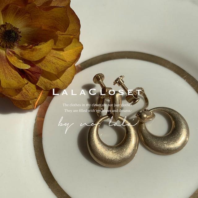 【即納】10%OFF Plump earring (ea-02) イヤリング / by no. Lala