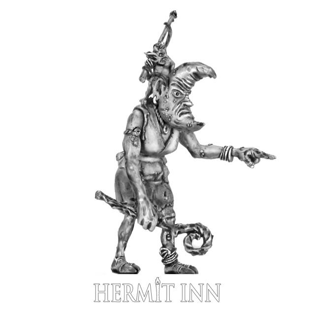 月の御使と釣り人(2体1組) - メイン画像