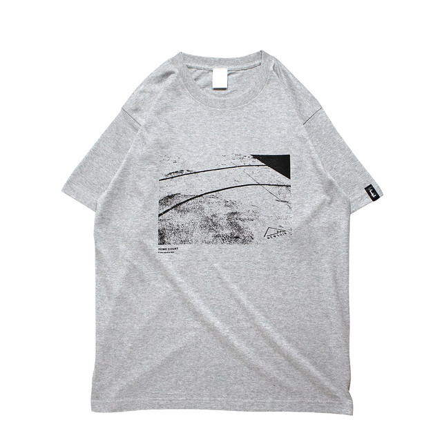 HOME COURT S/S CT <Gray×Black> - メイン画像