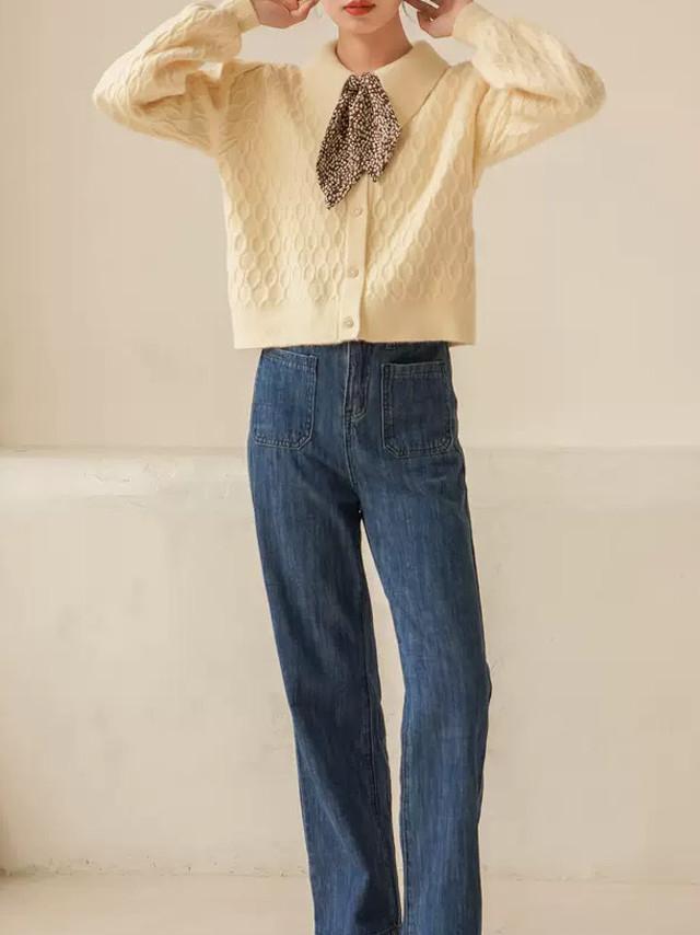 フレンチレトロツイストセーター