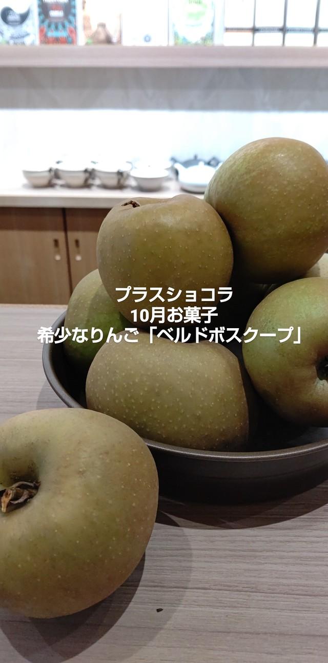 10月お菓子便第二弾【希少りんごのお菓子セット】