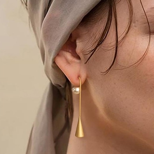 Pearl french pieces(パールフレンチピアス)a-241