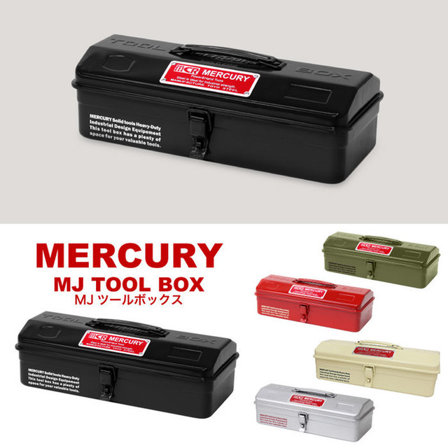 Mercury   MJツールBOX〔ボックス〕〔ブリキ〕 マーキュリー