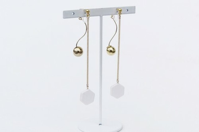 ilocami  SP-2  PIERCE/EARRING【WHITE】