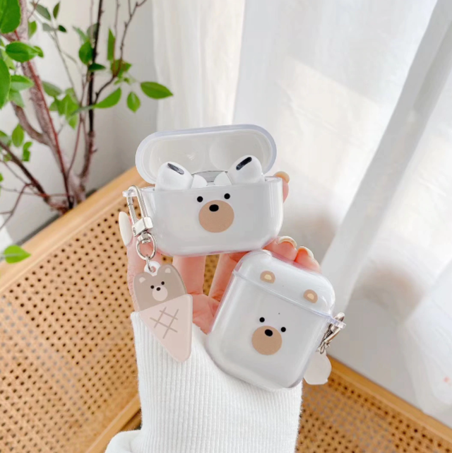 IceI bear airpods 1/2 Pro case