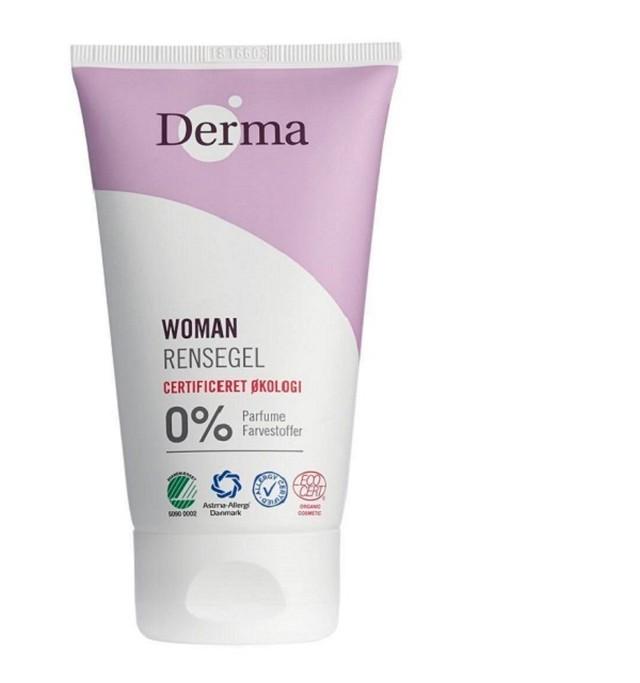 Derma eco woman オーガニック洗顔ジェル(リンスジェル)【150㎖】