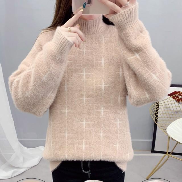 【tops】合わせやすいゆるっと感じセーター25713894