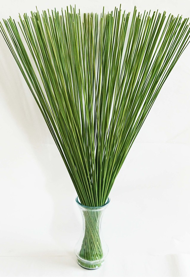 【イ草フラワー グリーン】Rush Grass Flower Green 70cm
