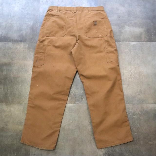Carhartt brown duck pants