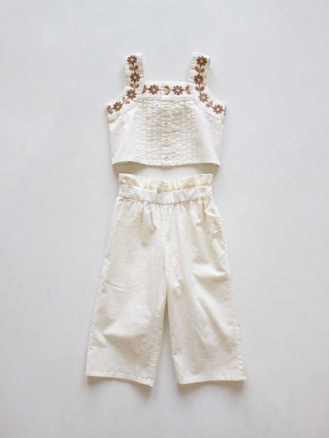 Apolina   Elma Trouser Set, Ivory