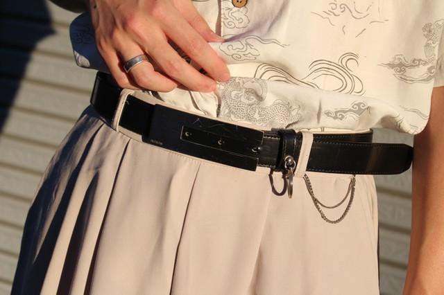 Vintage Lether Belt