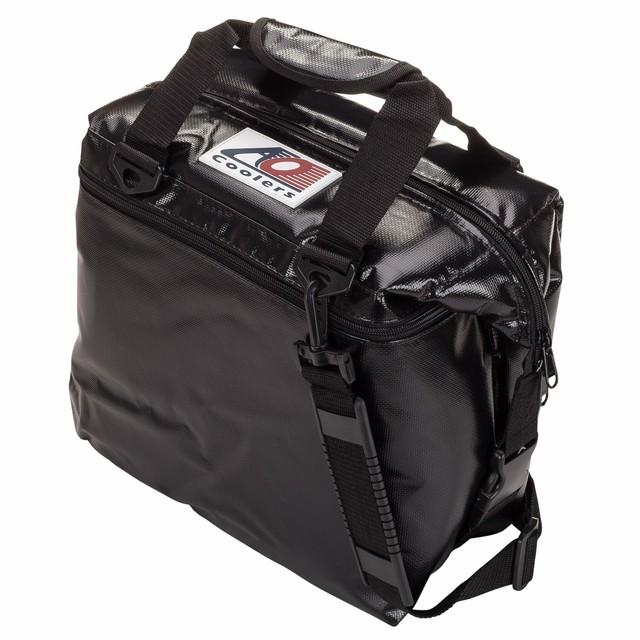 AO coolers(エーオークーラー)12パックソフトクーラー ブラック