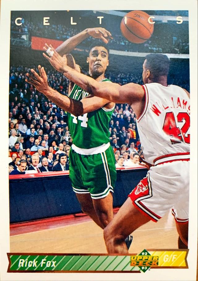 NBAカード 92-93UPPERDECK Rick Fox #232 CELTICS