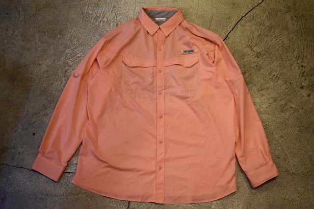 USED Columbia PFG fishing shirt XL S0224