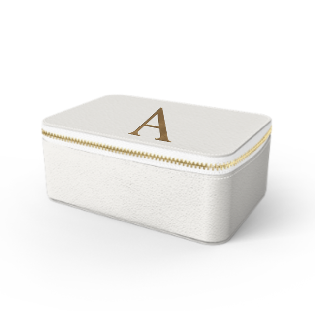 Box Premium Smooth Leather Case (Cotton White)
