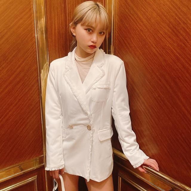 【Belle jour】Fringe tailored jacket