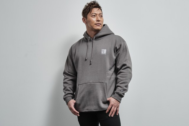 pullover parka(CEMENT)