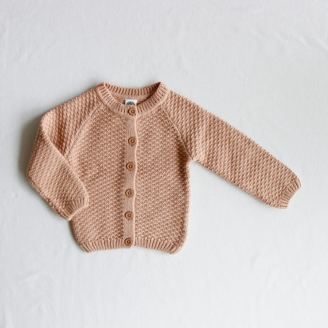 《LE PETIT GERMAIN 2019AW》Armel cardigan / powder