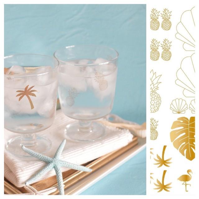 ガラス用 tropical parts【S holic】