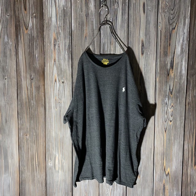 [Ralph Lauren]darkgray one point T shirt