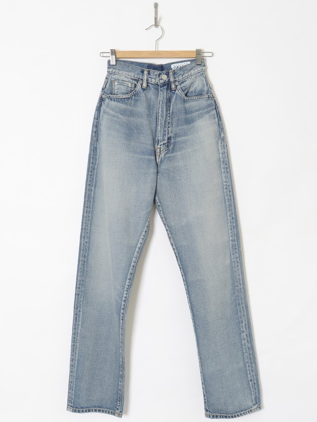 【HOLIDAY】HIGH WAIST WIDE DENIM PANTS (WASH)