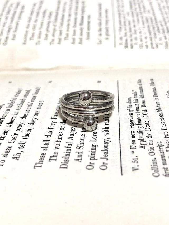 【Run Rabbit Run Vintage 】silvercolor ring