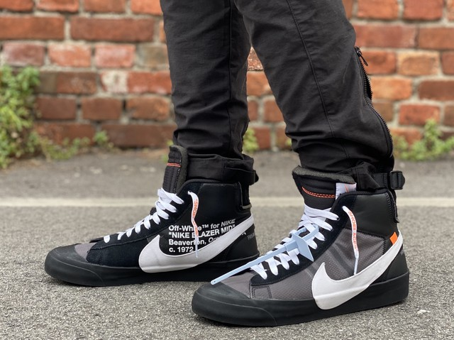 NIKE × OFF-WHITE THE 10 : BLAZER MID AA38732-001 29㎝ 380JB 3950