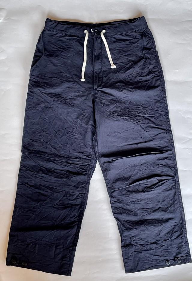 allinone(オールインワン)SMOCK pants ネイビー