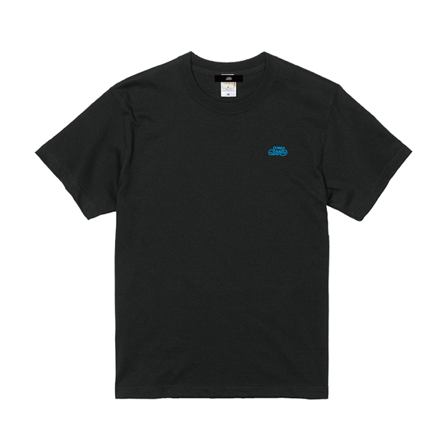 ロゴ刺繍Tシャツ / ブラック | SINE METU