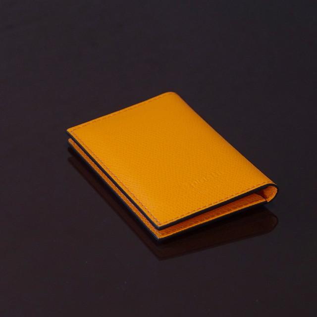 LIVERPOOL ORANGE / PINETTI DOUBLE BUISINESS CARD HOLDER(リバプール オレンジ / ピネッティ ダブルビジネスカードホルダー)