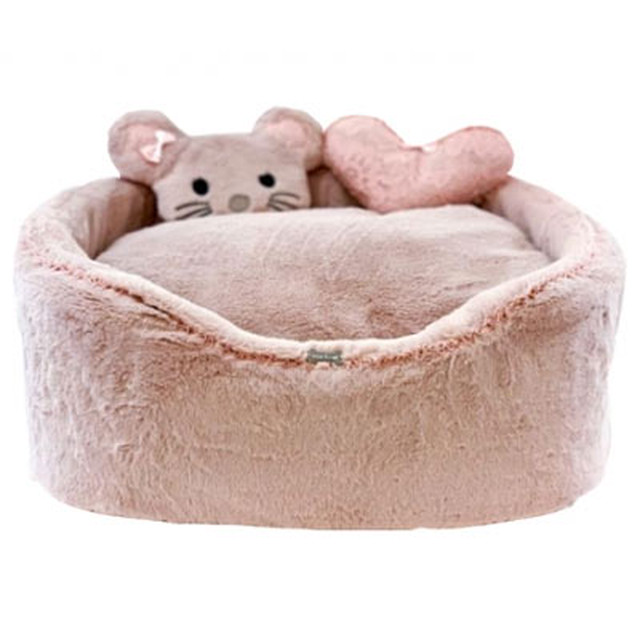 【予約】FOR PETS ONLY Furry Pink Sofa (AI2019-B1-M)