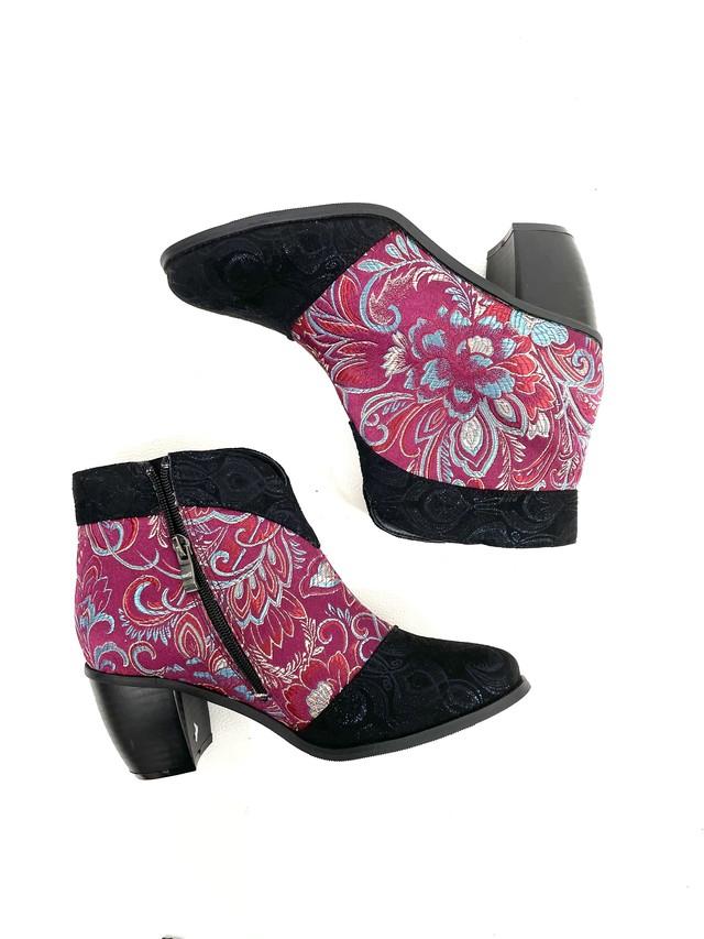 paisley short boots / 3SSGD02-20