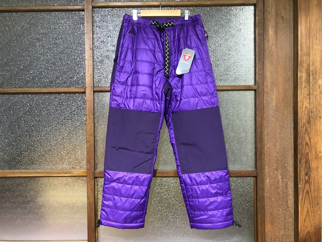 NIKE ACG PRIMALOFT TRAIL PANTS (VOLTAGE PURPLE/GRAND PURPLE/BLACK)