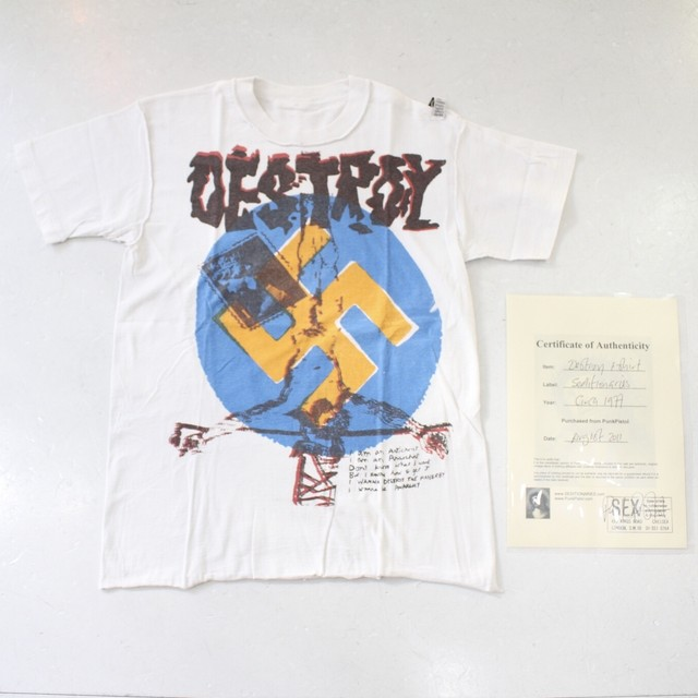 【SEDITIONARIES】Destroy T-shirt
