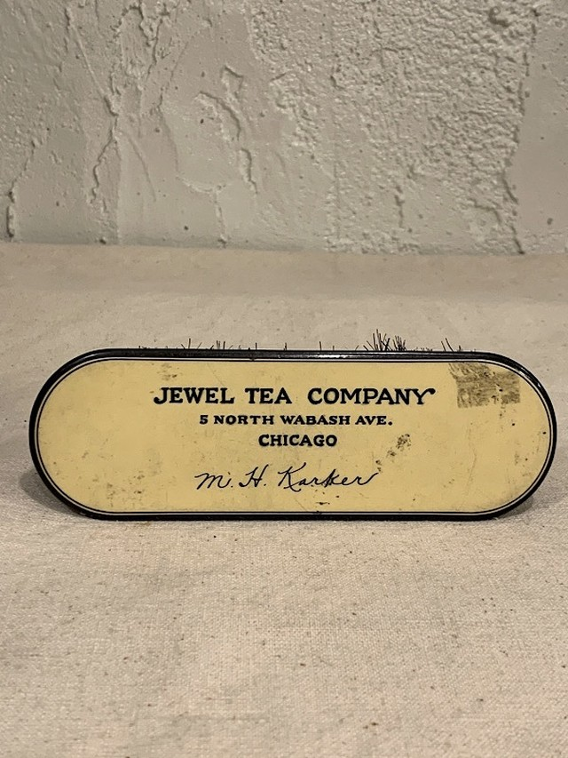"HANDY BRUSH  "" JEWEL TEA COMPANY """