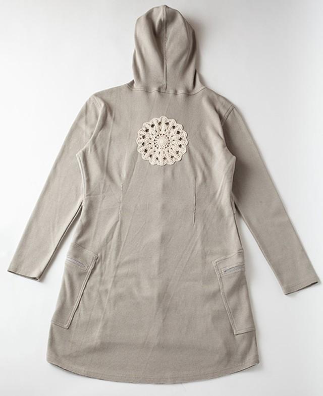 Pema+Love Mandala Emblem Long Jacket マンダラエンブレムロングジャケット