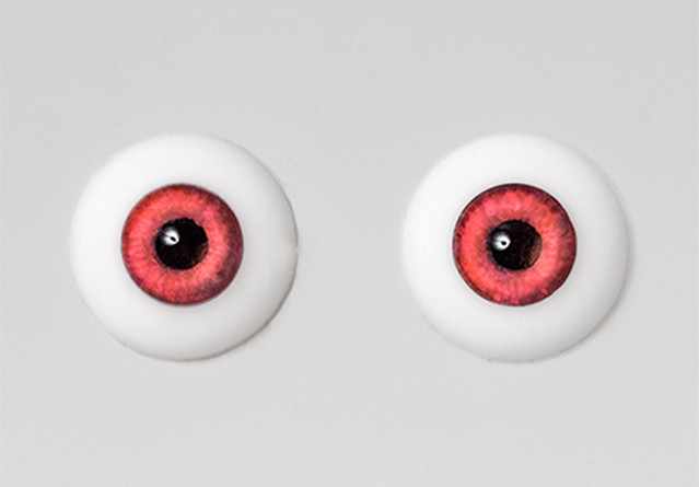 Silicone eye - 15mm X Red
