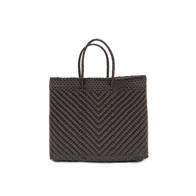 MERCADO BAG ESPIGA    -   Brown x Black(XS)