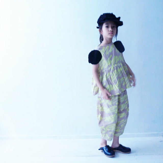frankygrow フランキーグロウ H/W 2DOTS SLEEVES TOPS  size:S・M・L