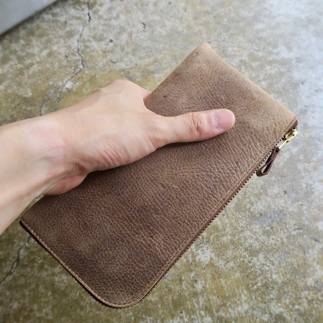LONG WALLET   KUDU ITALIAN LEATHER