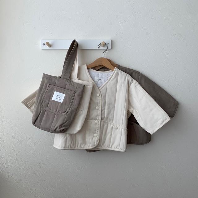 566. liner jacket + bag