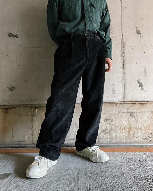 (PT056)Broke Brothers 太畝 2tuck corduroy pants
