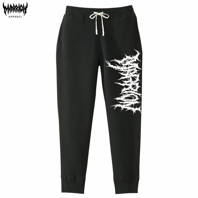 KILLER MARRION LOGO PANTS (Black)